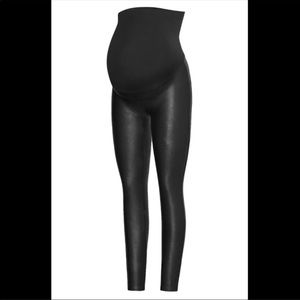 SPANX Maternity Faux Leather Legging
